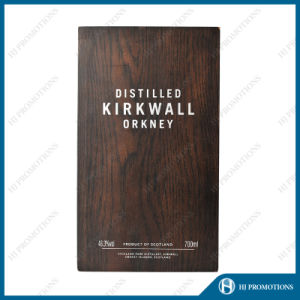 High Quality Oak Veneering Whisky Box (HJPWSB01) pictures & photos