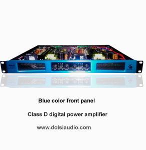 4 Channel Blue Audio Class D Digital Professional Power Amplifier pictures & photos