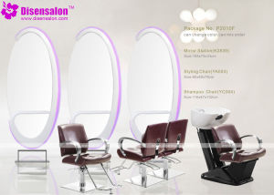 Popular High Quality Salon Mirror Barber Chair Salon Chair (P2010F) pictures & photos