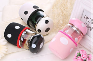 320ml The New Cartoon Type Lead-Free Glass Cup pictures & photos