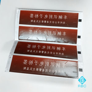 Anti-Counterfeit Adhesive Label Vehicle Identification Fragile Tag with Cutting Edge