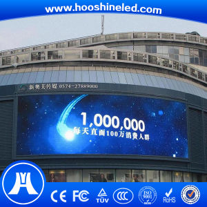 Big Commercial Advertising Full Color P10 SMD Outdoor TV pictures & photos