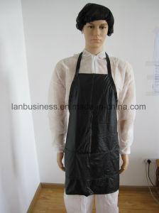 Black Custom Styling Cape Salon Stylist Uniform pictures & photos