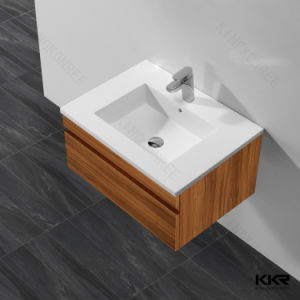 Modern Sanitaryware Resin Stone Bathroom Cabinet Wash Basin pictures & photos