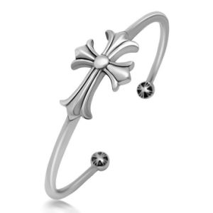 Cross Men Bracelets Titanium Steel Fashion Accessories Cuff Bangles pictures & photos