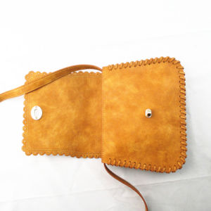 Embossed Brown PU Handbag pictures & photos