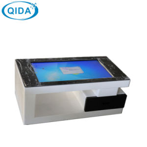Network Interactive Kiosk Super Slim IR LCD Touch Totem pictures & photos