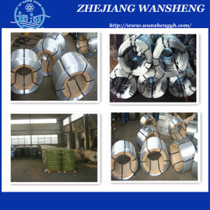 1.0-5.0mm Galvanized High Carbon Steel Wire Zinc Coated Steel Wire pictures & photos
