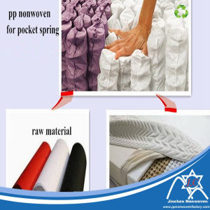 TNT PP Nonwoven Spunbond Nonwoven Fabric for Pocket Coil pictures & photos