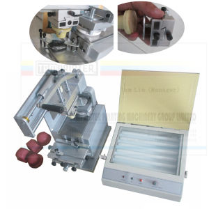 Tabletop One Color Manual Ink Cup Pad Printing Machine pictures & photos