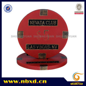 16g Nevada Club Las Vages Metal Chip (SY-F01-1) pictures & photos