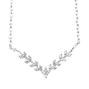 Fashion 925 Sterling Silver Jewelry Necklace, with CZ, Lead and Nickel Free pictures & photos