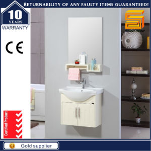 Espresso Gloss Painted Wall Mounted Bathroom Combination Vanity Unit pictures & photos