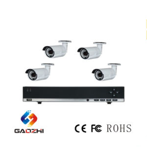 High Quality Cost Effective CCTV Camera System 4CH NVR Kit CCTV System Supports 2 SATA HDD pictures & photos