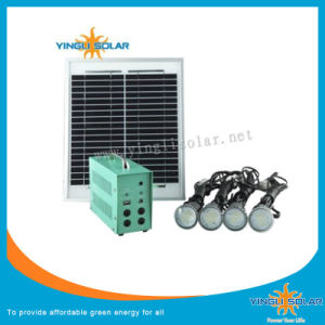 10W Small Solar System with Solar Panel and Lights pictures & photos