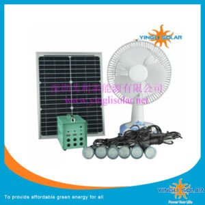 10W 20W 30W 60W Portable Solar Light and Fan pictures & photos
