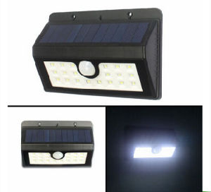 Outdoor Lighting Waterproof IP65 Solar LED Wall Light with CE RoHS pictures & photos