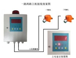 Analog Type 3 Wires 4-20mA Industrial Gas Detector with Security System pictures & photos