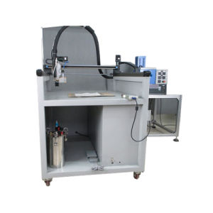 Three Axis Cold Adhesive Extrusion Machine (LBD-LD3A001) pictures & photos