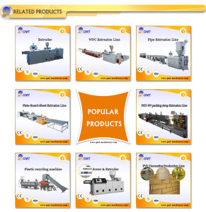 PVC WPC Ceiling Panel Plastic Product Extruder Making Machinery pictures & photos