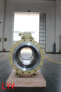 High Quality Side Entry Forged Trunnion Ball Valve pictures & photos