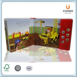 Sound Speaking Paper Cardboard Books for Children pictures & photos