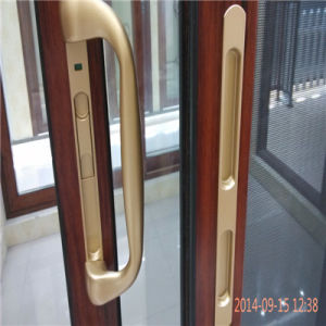 Aluminum Doors with Double Glazing pictures & photos