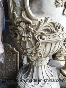 European Sandstone Flowerpot Sculpture Our Company Specializes in Making Various Kinds of Sculptural Sculptures That Can Be Customized by Private pictures & photos
