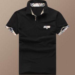Men Emberoidery Pocket Polo Shirt pictures & photos