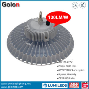 Warehouse Factory Workshop Stadium Sport Court 130lm/W Waterproof 150W LED High Bay Lamp pictures & photos