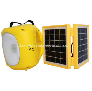LED Solar Rechargeable Lantern LED Emergency Solar Lantern with Mobile Phone Charger pictures & photos