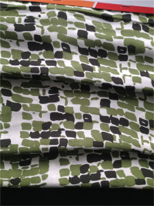 Printed Silk Satin in Small Stones pictures & photos