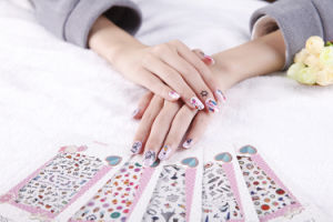 DIY Decoration Lovely Temporary Water Transfer Nail Sticker pictures & photos