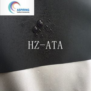 Waterproof PU Coating Npolyester Taffeta Fabric pictures & photos