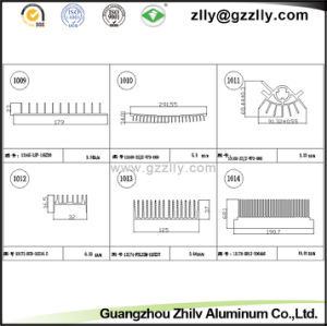 7000 Series Building Material Aluminum Heat Sink for Machinery pictures & photos