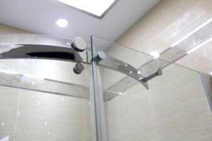 Bathroom 8mm Big Roller One Door Quadrant Shower Enclosure (BN-BRSQD8012) pictures & photos