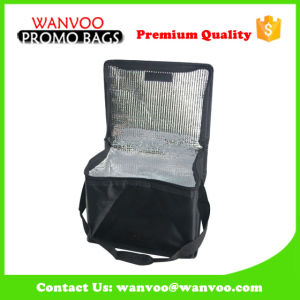 Foldable Non Woven PP Cooler Handbag Packed with Food, Drink, Beer Can, Ice Cooling Bag for Outdoor Travel Picnic pictures & photos