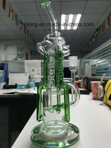 New Designs Recycler Tobacco Tall Color Bowl Glass Craft Ashtray Heady Beaker Bubbler Oil Rigs Glass Smoking Water Pipe pictures & photos