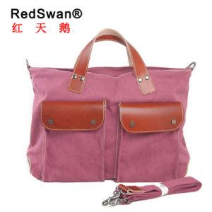 Men′s Cavnas Messenger Outdoor Traveling Shoulder Fashion Handbag (RS-1021) pictures & photos
