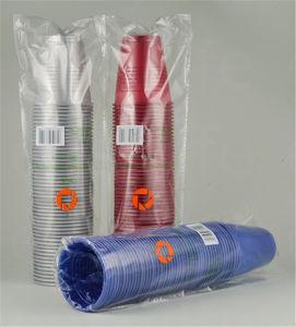 7oz (200ml) C077380 Disposable PP/PS Plastic Colorful Cup pictures & photos