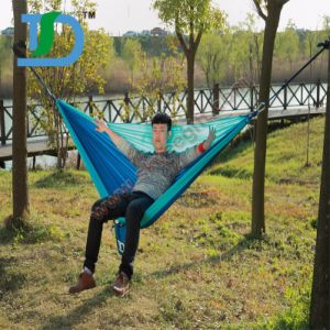 Camping Custom Colors Stripe Double Hammocks for Sale pictures & photos