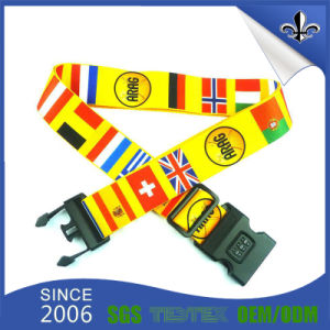 Colorful Custom Design Own Logo Luggage Strap /Luggage Belt pictures & photos