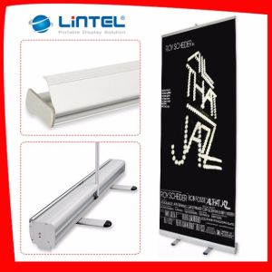 Exhibition Custom Logo Aluminum Roll up Banner Display pictures & photos