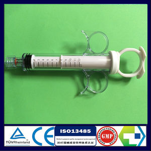 Ring Handle Syringe for Angiography Operation pictures & photos