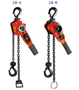 1.5 Ton Manual Lifting Hoist Chain Lever Block with Pulley pictures & photos