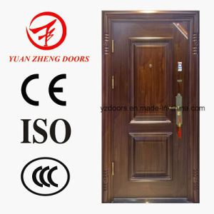 Coppper Color Security Steel Door with Turkey Door Design pictures & photos