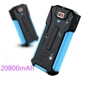 3USB Mobile Phone Charger 20800mAh Universal Power Bank with Flashlight pictures & photos