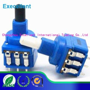 Wh116ak 6mm Switch Dual Shaft Rotary Potentiometer