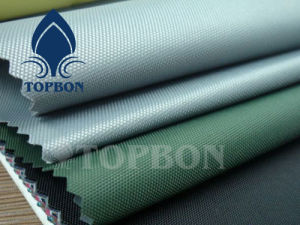 Ployester Waterproof Oxford 600d Fabric with PU Coating pictures & photos