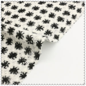 91%Acrylic 3%Polyester 6%Nylon Printed Woolen Fabric pictures & photos